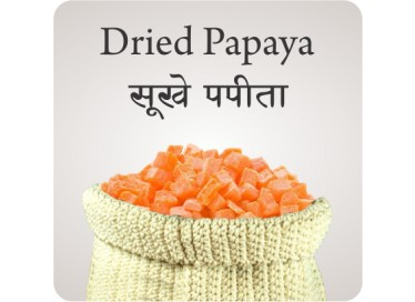 DRIED PAPAYA